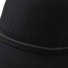 画像4: WOOL ALPEN HAT(ウールアルペンハット)SE124 ブラック (4)