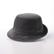 画像1: CORDUROY ALPEN HAT(コーデュロイ アルペンハット)SE125 グレー (1)