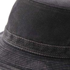 画像4: CORDUROY ALPEN HAT(コーデュロイ アルペンハット)SE125 グレー (4)