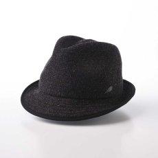 画像1: KNIT MANISH HAT(ニットマニッシュハット)SE420 ブラック (1)