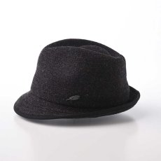 画像2: KNIT MANISH HAT(ニットマニッシュハット)SE420 ブラック (2)