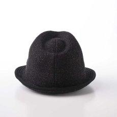 画像3: KNIT MANISH HAT(ニットマニッシュハット)SE420 ブラック (3)