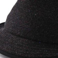 画像4: KNIT MANISH HAT(ニットマニッシュハット)SE420 ブラック (4)