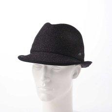 画像6: KNIT MANISH HAT(ニットマニッシュハット)SE420 ブラック (6)