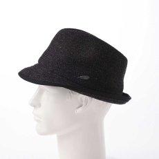 画像7: KNIT MANISH HAT(ニットマニッシュハット)SE420 ブラック (7)