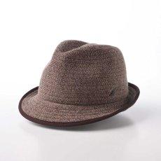 画像1: KNIT MANISH HAT(ニットマニッシュハット)SE420 ブラウン (1)