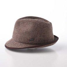 画像2: KNIT MANISH HAT(ニットマニッシュハット)SE420 ブラウン (2)