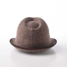 画像3: KNIT MANISH HAT(ニットマニッシュハット)SE420 ブラウン (3)