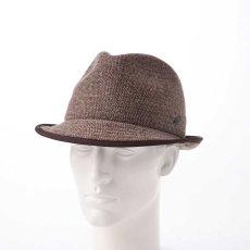 画像6: KNIT MANISH HAT(ニットマニッシュハット)SE420 ブラウン (6)