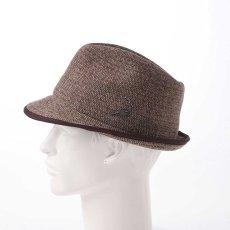画像7: KNIT MANISH HAT(ニットマニッシュハット)SE420 ブラウン (7)