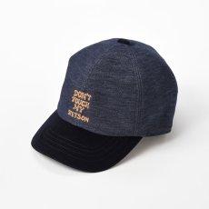 画像1: VELVETTEEN CAP(ベルベッティーンキャップ)SE560 ネイビー (1)