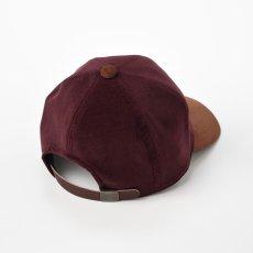 画像2: VELVETTEEN CAP(ベルベッティーンキャップ)SE560 ワイン (2)