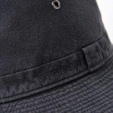 画像4: COTTON SAFARI HAT(コットンサファリハット)SE580 ブラック (4)
