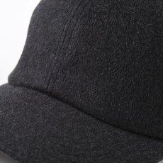 画像3: CASHMERE CAP(カシミヤ キャップ)SE635 チャコールグレー (3)