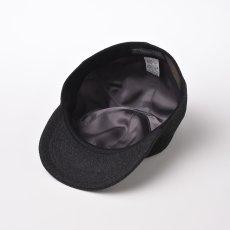 画像4: CASHMERE CAP(カシミヤ キャップ)SE635 チャコールグレー (4)
