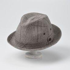 画像2: LINEN HAT(リネンハット)SE448 ブラウン (2)