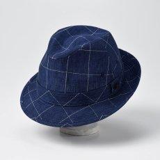 画像1: LINEN HAT(リネンハット)SE448 ネイビー (1)