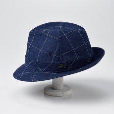 画像3: LINEN HAT(リネンハット)SE448 ネイビー (3)