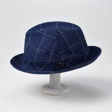 画像4: LINEN HAT(リネンハット)SE448 ネイビー (4)