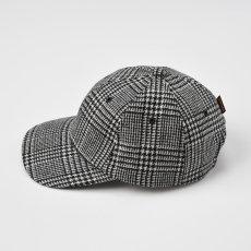 画像2: WASHABLE TWEED CAP(ウォッシャブルツイードキャップ)SE473 ブラック (2)