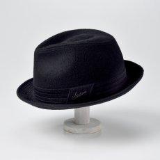 画像4: CASHMERE MIX HAT(カシミヤミックスハット)SE132 ブラック (4)