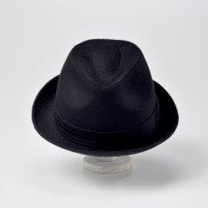 画像5: CASHMERE MIX HAT(カシミヤミックスハット)SE132 ブラック (5)