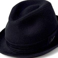 画像7: CASHMERE MIX HAT(カシミヤミックスハット)SE132 ブラック (7)