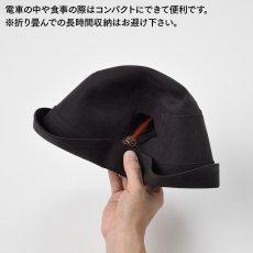 画像6: MICROFIBER WR HAT(マイクロファイバー撥水ハット)SE497 ダークグレー (6)