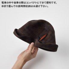 画像2: CHECK CORDUROY HAT(チェックコーデュロイハット)SE490 ネイビー (2)