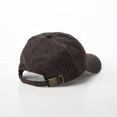 画像2: DISTRESSED COTTON CAP(ディストレスト コットンキャップ)ST195 ブラウン (2)