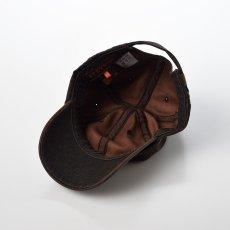 画像4: DISTRESSED COTTON CAP(ディストレスト コットンキャップ)ST195 ブラウン (4)