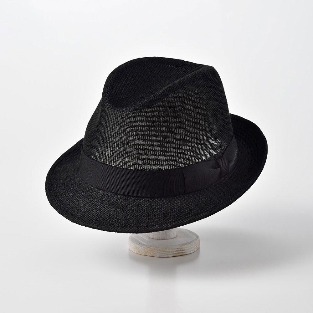 画像1: LINEN MESH HAT(リネン メッシュ)SE536 ブラック (1)