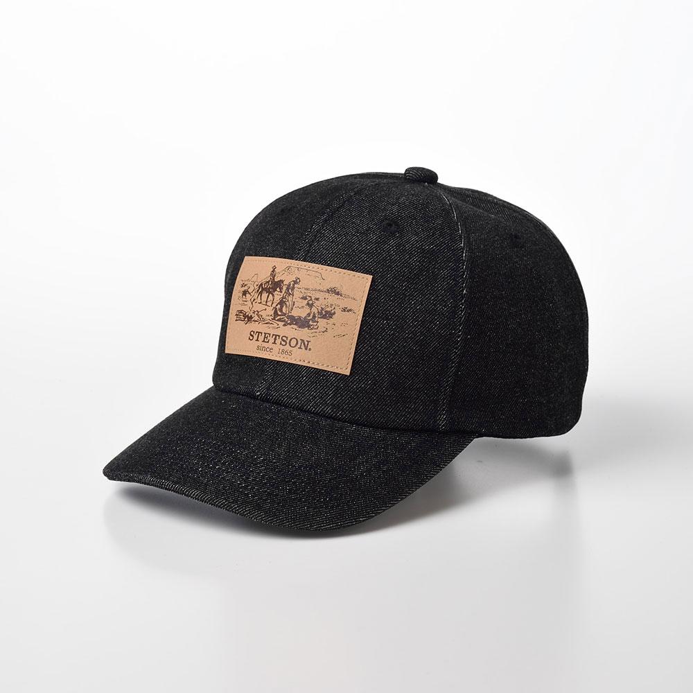 画像1: DENIM CAP(デニムキャップ)SE589 ブラック (1)