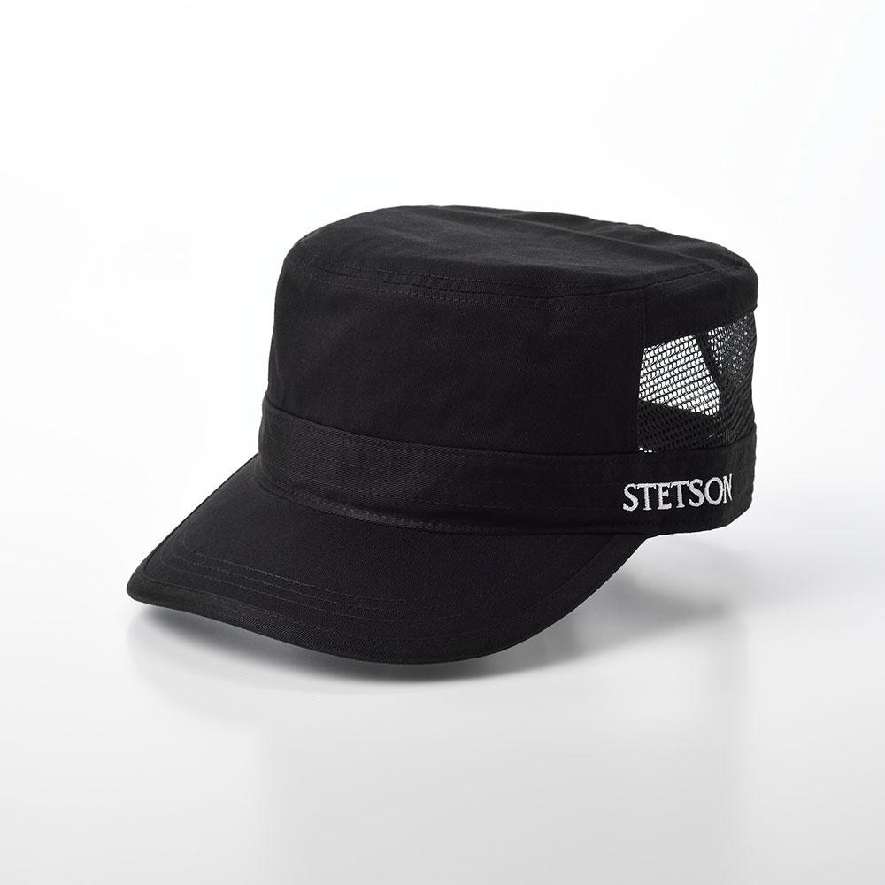 画像1: COTTON WORK CAP(コットンワークキャップ)SE593 ブラック (1)