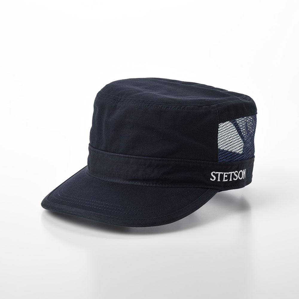 画像1: COTTON WORK CAP(コットンワークキャップ)SE593 ネイビー (1)