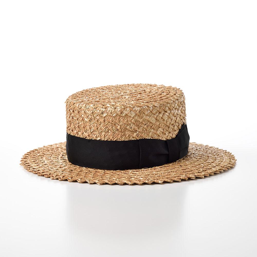 画像1: 花麦カンカン帽 Saw Braid(ソーブレード)SE599 ナチュラル (1)