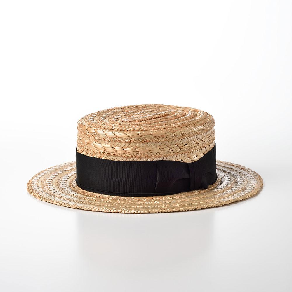 画像1: 花麦カンカン帽 SE600 ナチュラル (1)