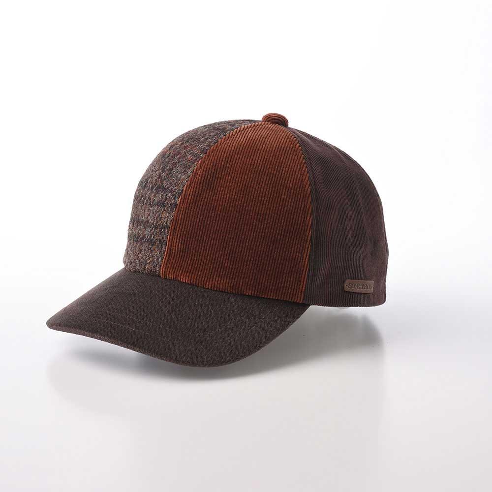 画像1: PATCHWORK CAP(パッチワークキャップ)SE611 ブラウン (1)