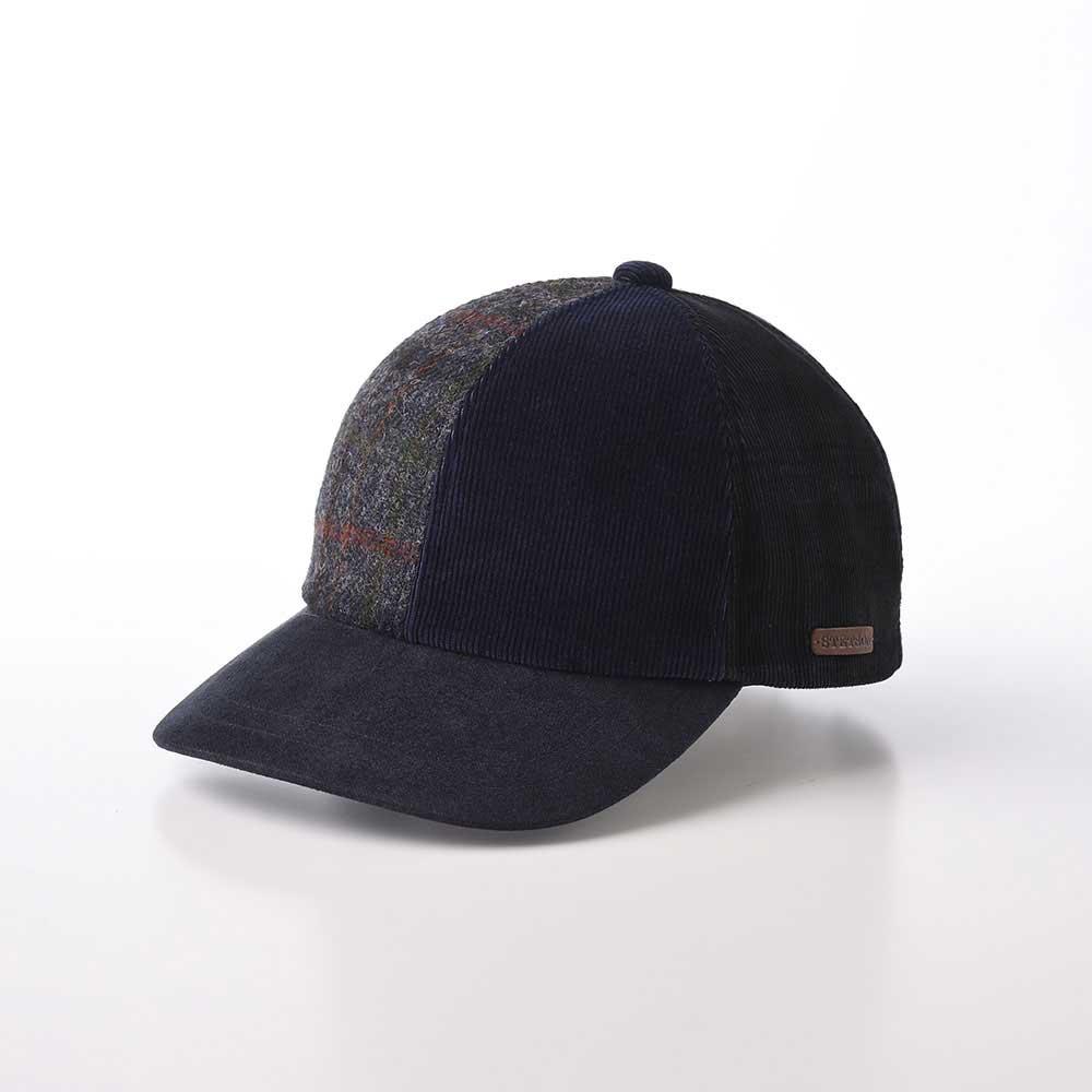 画像1: PATCHWORK CAP(パッチワークキャップ)SE611 ネイビー (1)