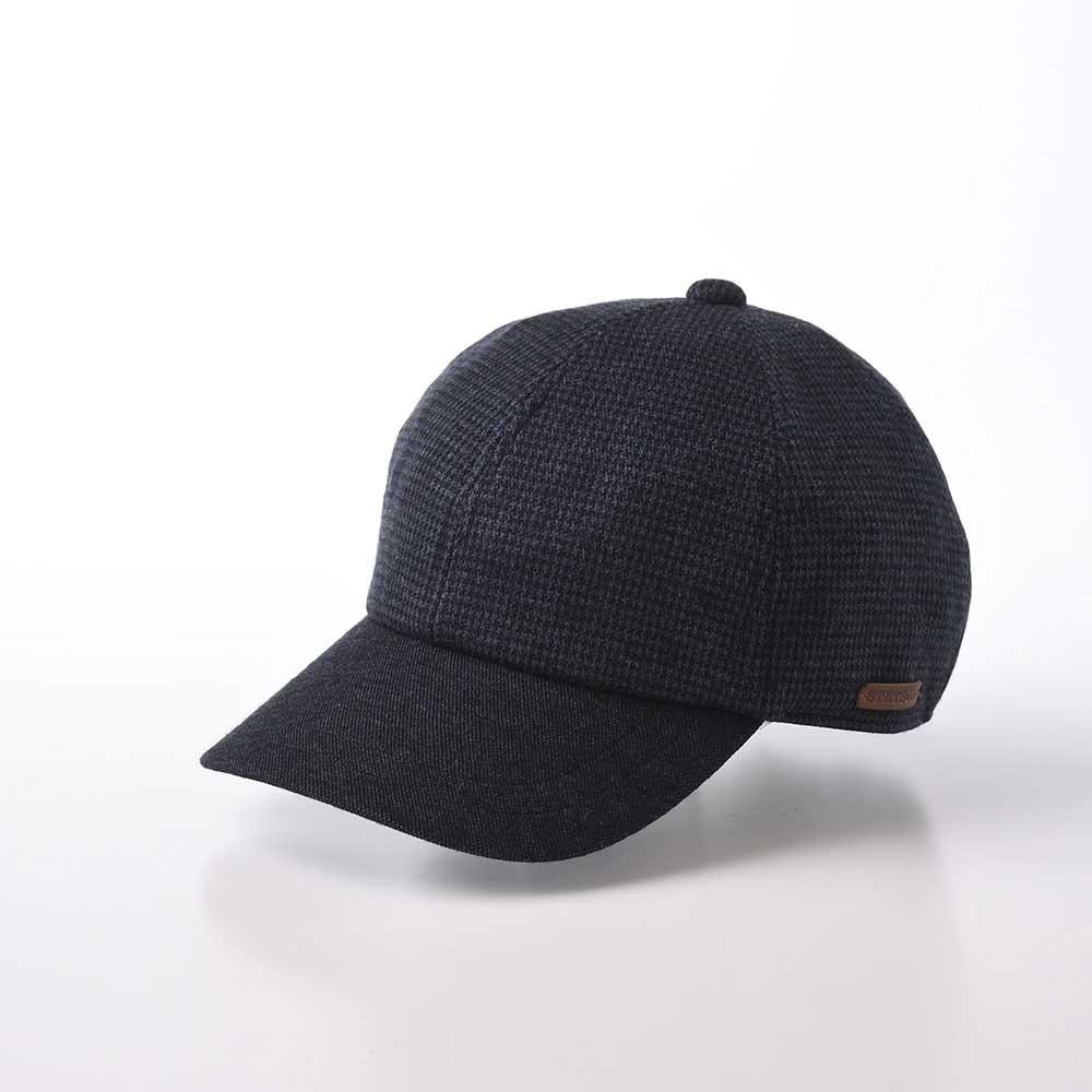 画像1: KNIT BASEBALL CAP(ニット ベースボールキャップ)SE626 ネイビー (1)