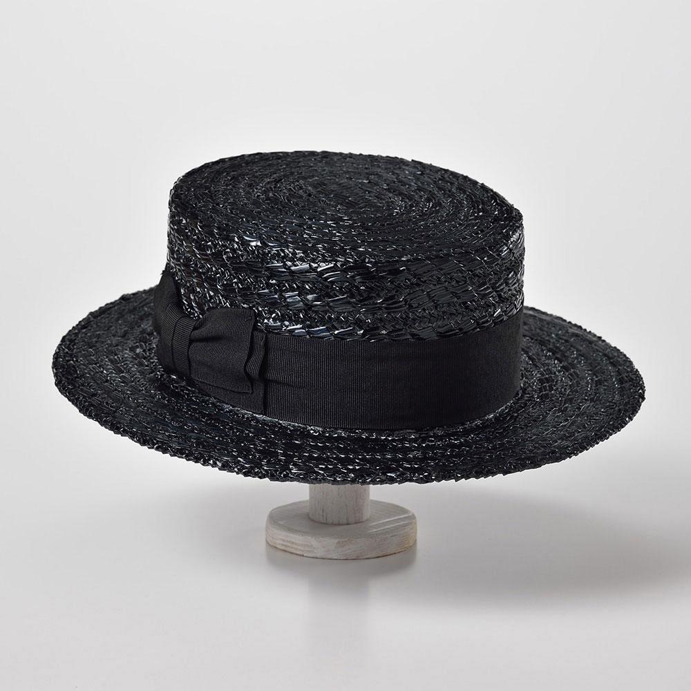画像1: BOATER HAT(ボーターハット)SH465 ネイビー (1)