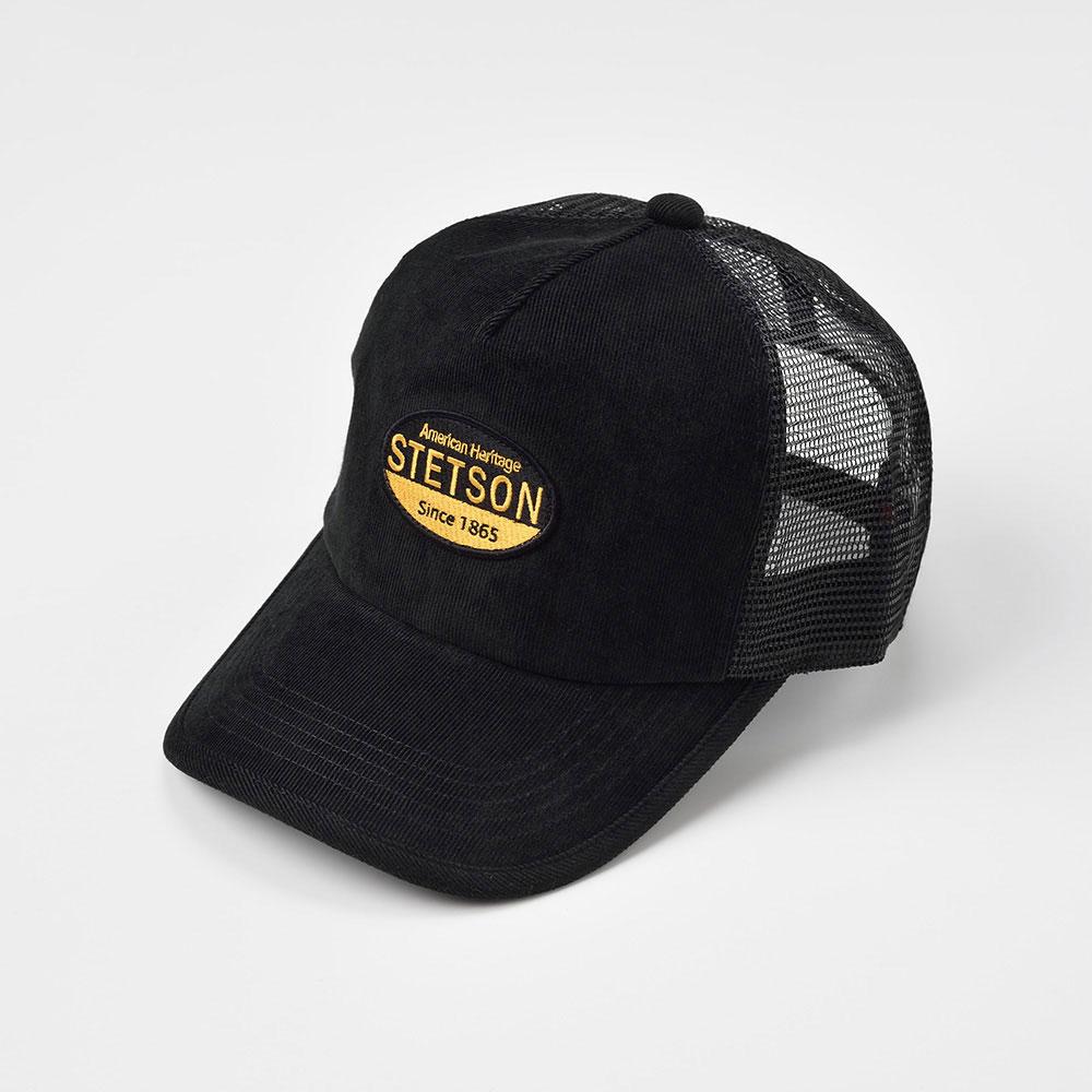 画像1: MESH CAP(メッシュキャップ)SE488 ブラック (1)