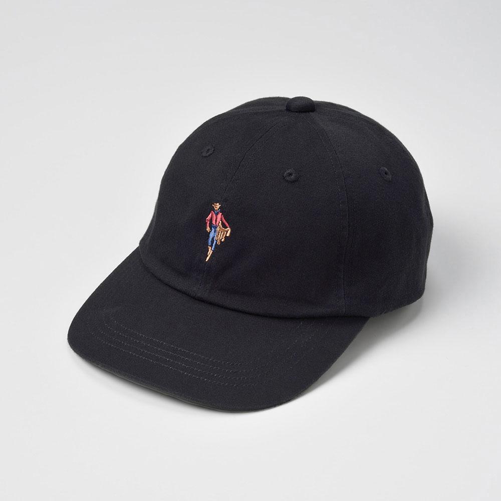 画像1: MASCOT CAP(マスコットキャップ)SE409 ブラック (1)
