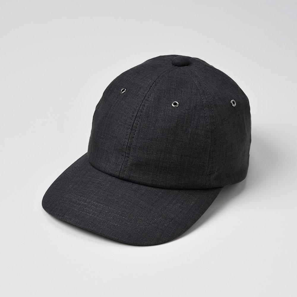 画像1: 6 PANEL CAP(6パネルキャップ)SE441 チャコール (1)