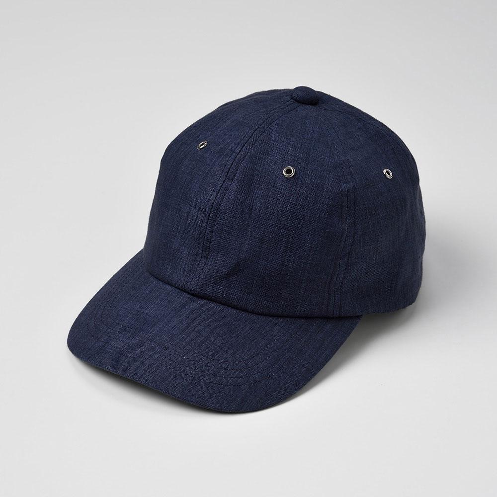 画像1: 6 PANEL CAP(6パネルキャップ)SE441 ネイビー (1)