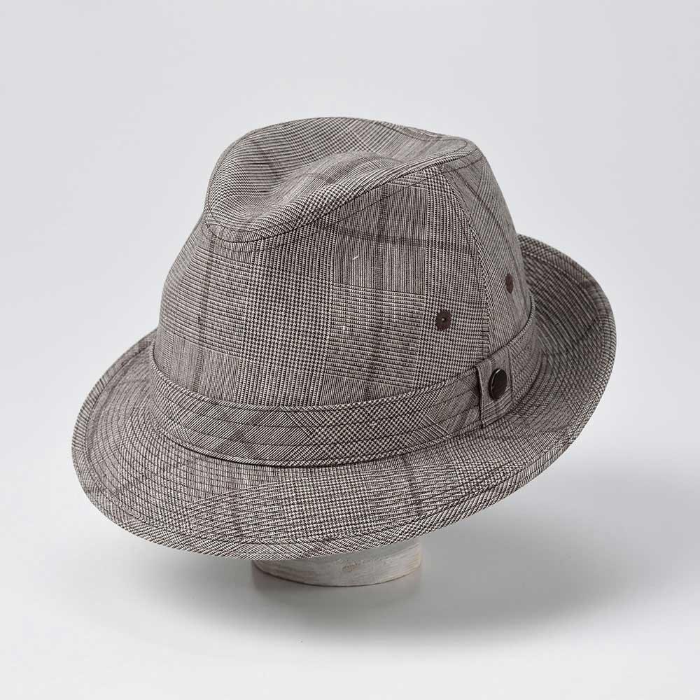 画像1: LINEN HAT(リネンハット)SE448 ブラウン (1)