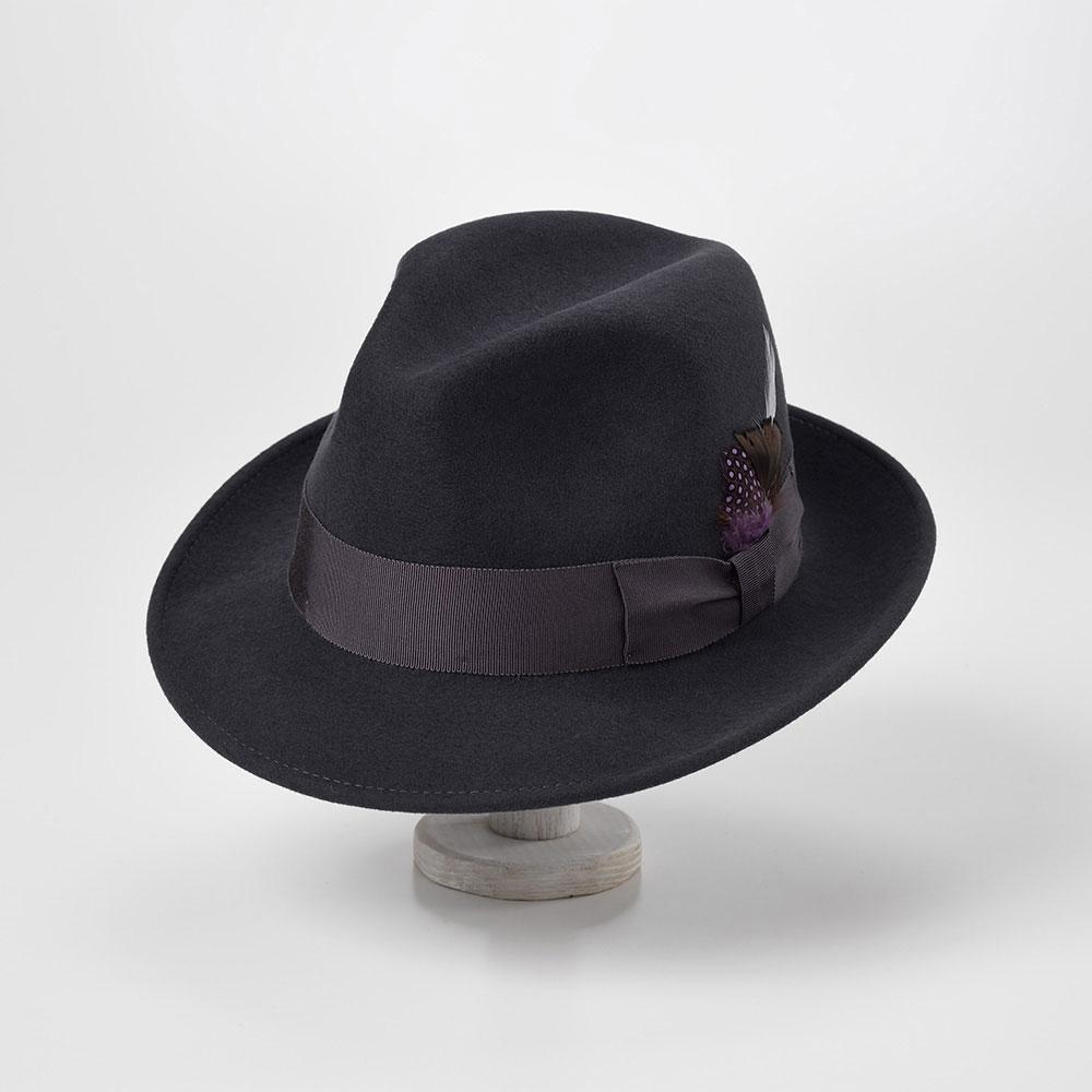 画像1: CRUSHABLE WOOL HAT(クラッシャブルウールハット)SE217 グレー (1)