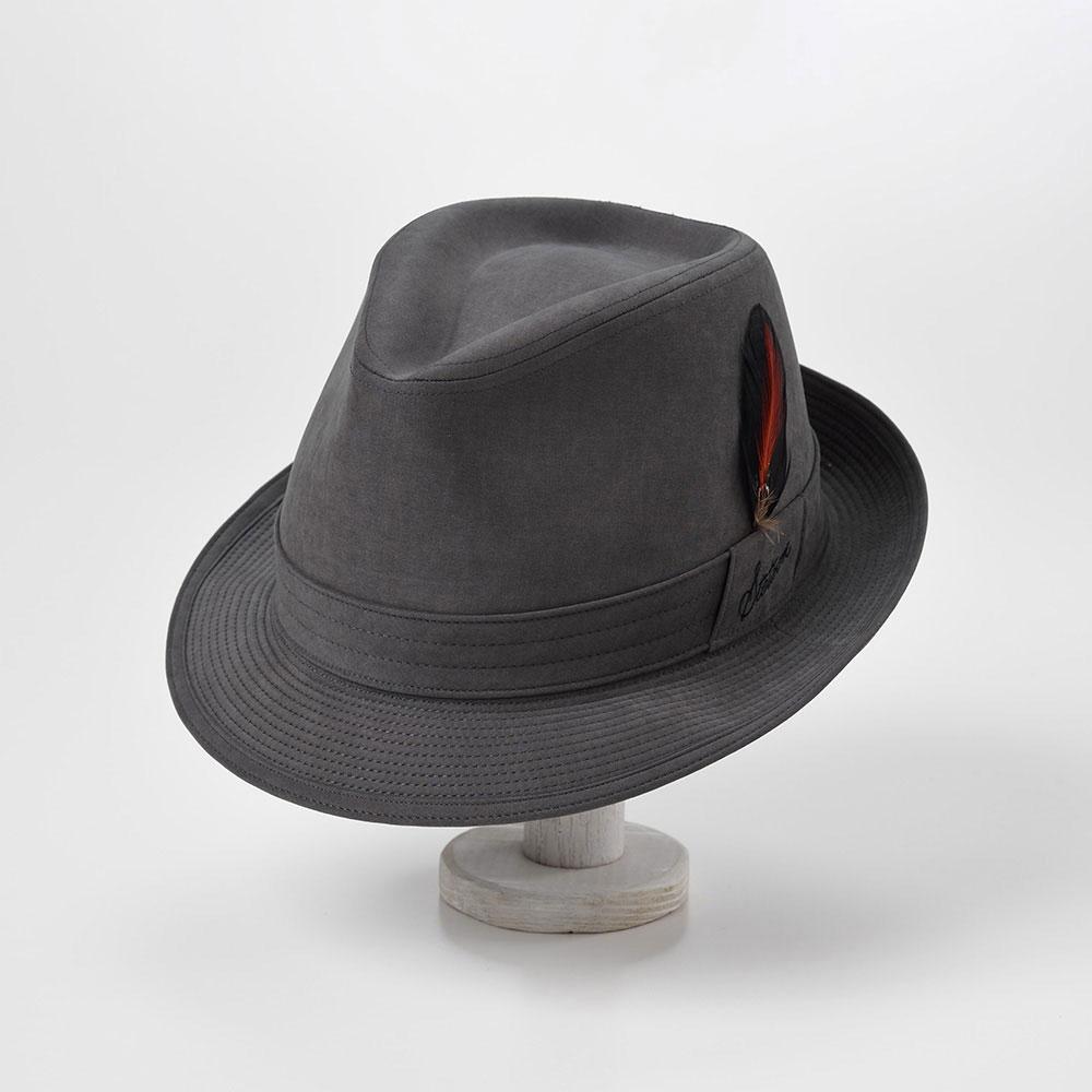 画像1: MICROFIBER WR HAT(マイクロファイバー撥水ハット)SE497 チャコールグレー (1)