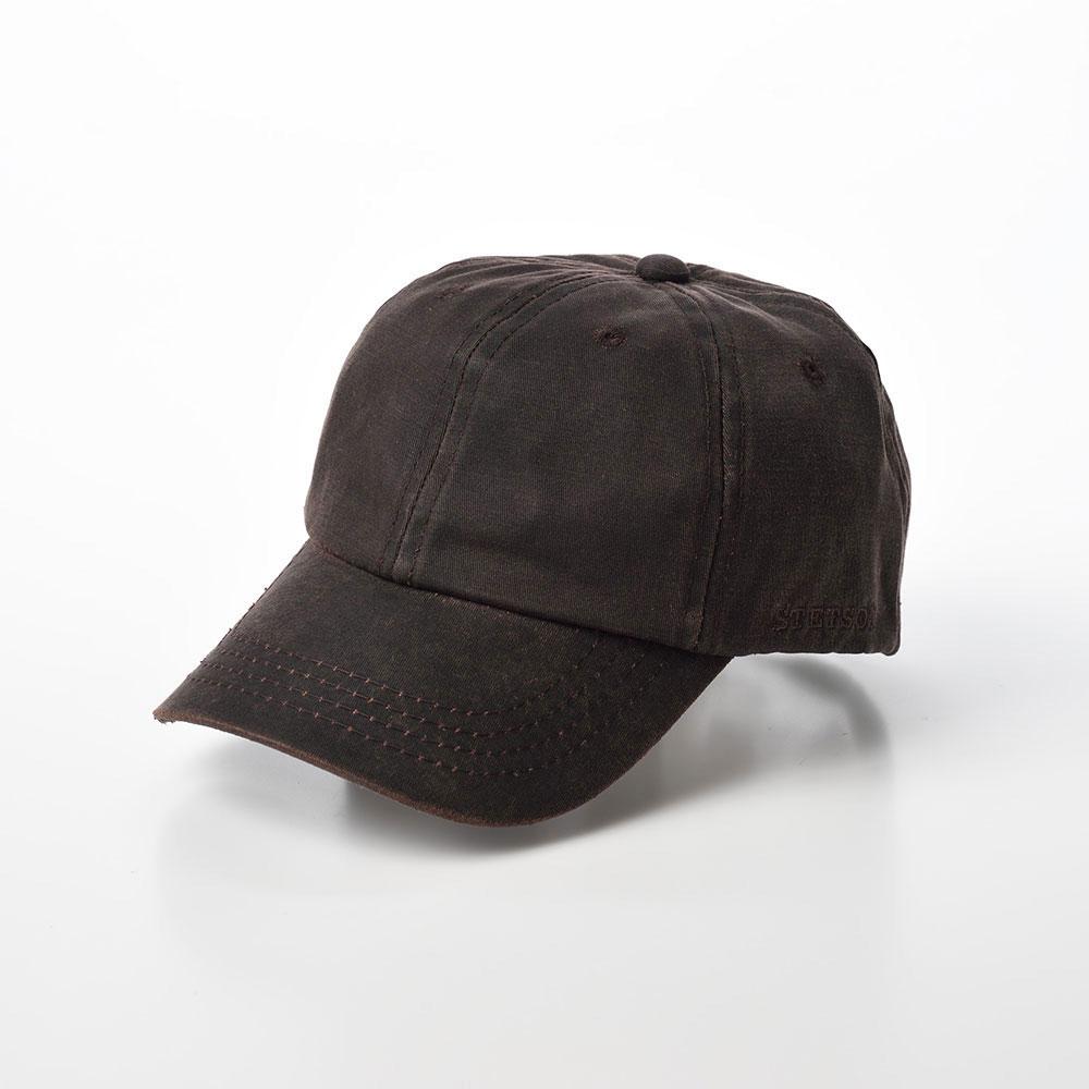 画像1: DISTRESSED COTTON CAP(ディストレスト コットンキャップ)ST195 ブラウン (1)